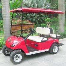 Chariot de Buggy électrique de 4 personnes de Marshell Factory avec le siège arrière (DG-C2 + 2)