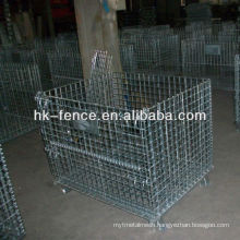 40''x48''x42'' Hot Dipped Galvanized Storage Wire Container