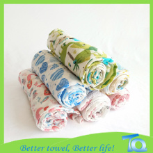 Friendly High Quality Baby Bamboo Rayon Muslin Swaddle