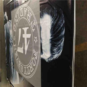 Banner de PVC exterior transparente personalizado