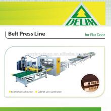 Línea de prensa de fusión en caliente para puertas de peines de miel