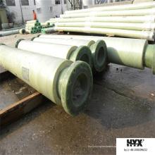 O material do poliuretano adota a tubulação de FRP para o transporte do líquido Geothermic do campo petrolífero