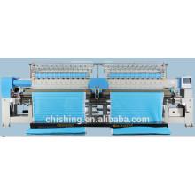 acolchoado e máquina de bordar