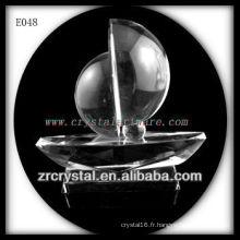 Modèle de trafic de cristal délicat E048