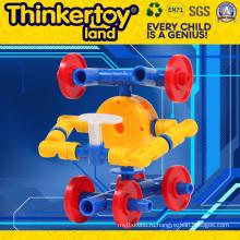 Пластмассовая игрушка большого блока для детей