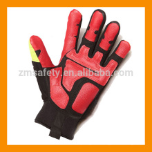 Rigger Style Anti Vibration Oil Resistant Safety Gloves
