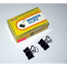 25mm Black Binder Clips (1004)