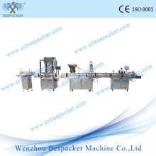 Marquage automatique de remplissage et machine de capsulage de pots