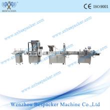 Máquina de embalagem Máquina de enchimento e tampas do alimentador de linha de embalagem