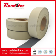 High brightness reflective PVC foam leather