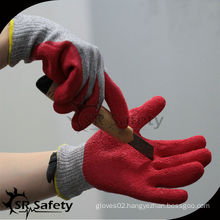 SRSAFETY red latex cut resistant glove