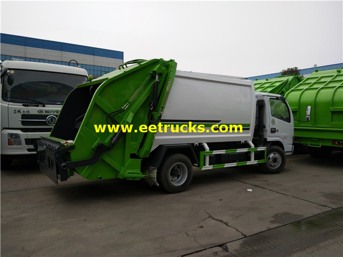 6000 Litres Compressed Trash Vehicles