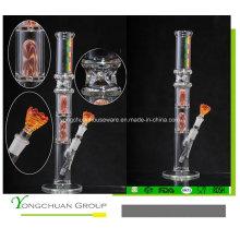 Bufandas de alta calidad de alta calidad con color hecho a mano de vidrio Shisha 503