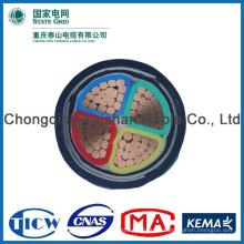 Хорошее качество Материал PVC / XLPE кабель 4 * 70mm al / xlpe / swa / pvc