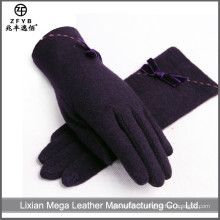 Chine Wholesale Gants Custom Black Wool