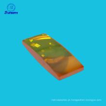 Lente óptica ZnSe para máquina de corte a laser CO2