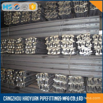 Cheapest Factory for Crane Steel Train Rails Mine rail asce 25 55Q 6m supply to Belize Suppliers