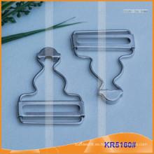 Hebilla de calabaza de metal para accesorios de prendas de vestir KR5160