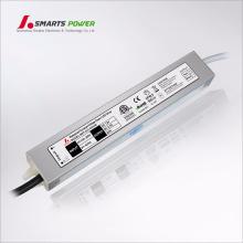 CE ETL UL listados 100-265 v ac constante tensão led dirver 30 w 12 v led transformador