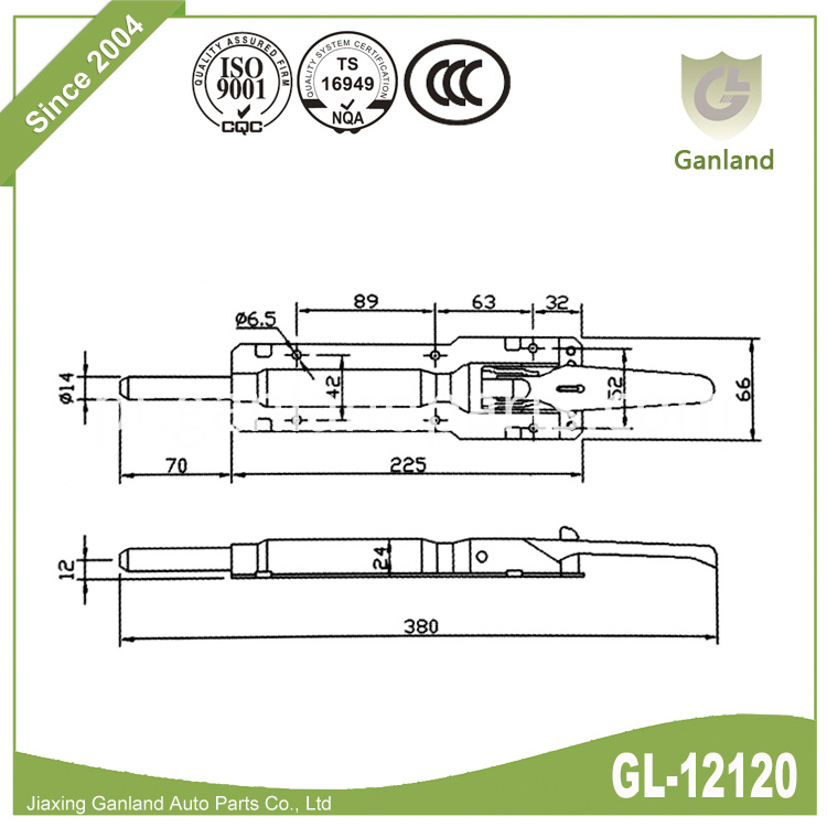 Commercial Van Body Parts 2 GL-12120