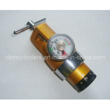 Advanced Golden Brass O2 Inhalator Regulator