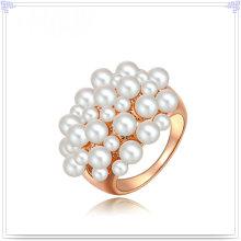 Moda jóias de pérolas anel de liga de jóias (al2040)