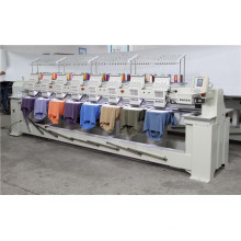 8 Head Head Number Cap Embroidery Machine T-Shirt / Flat Embroidery Machine