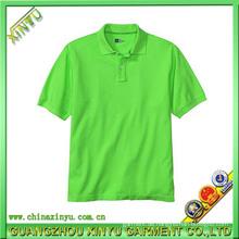 Hot Sell Man 100% Baumwolle Golf Polo Shirts (XY0069)
