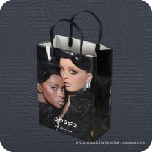 Premium Luxury Plastic Shopping Bag with Clip Handle
