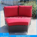 Hot Selling Leisure Round Rattan Lounge Sofa Set