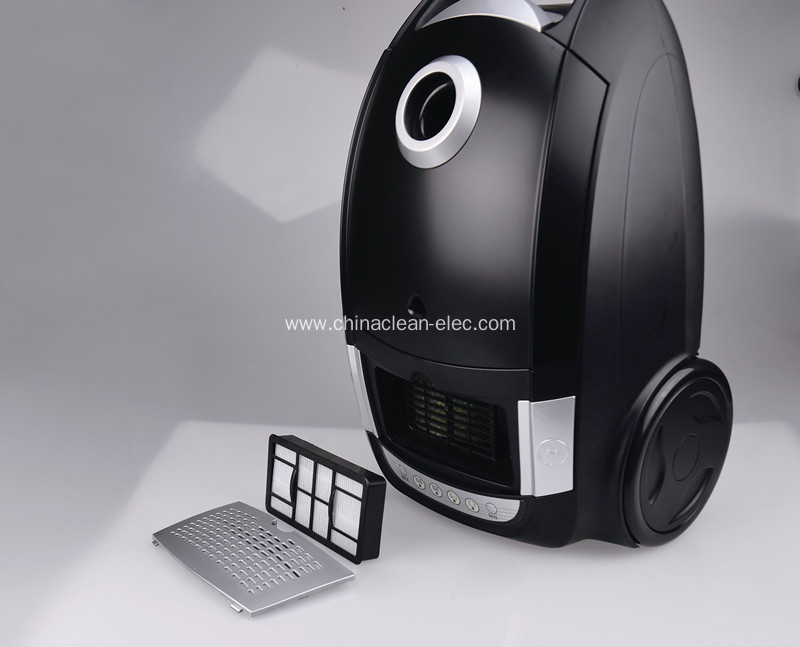 led display bagless vacuum cleaner