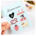 Etiquetas decorativas da espuma 3D do diário criativo feito sob encomenda do bolso DIY