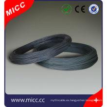 MICC alambre de níquel plano brillante redondo alambre elemento de calefacción