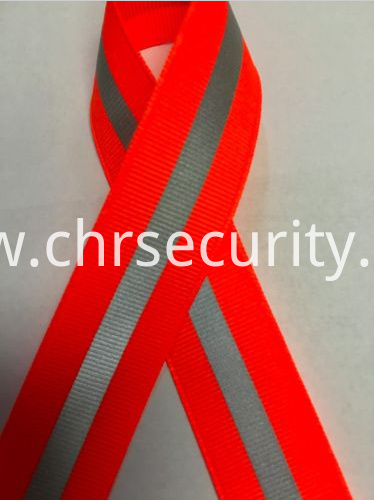 ORANGE REFLECTIVE RIBBON