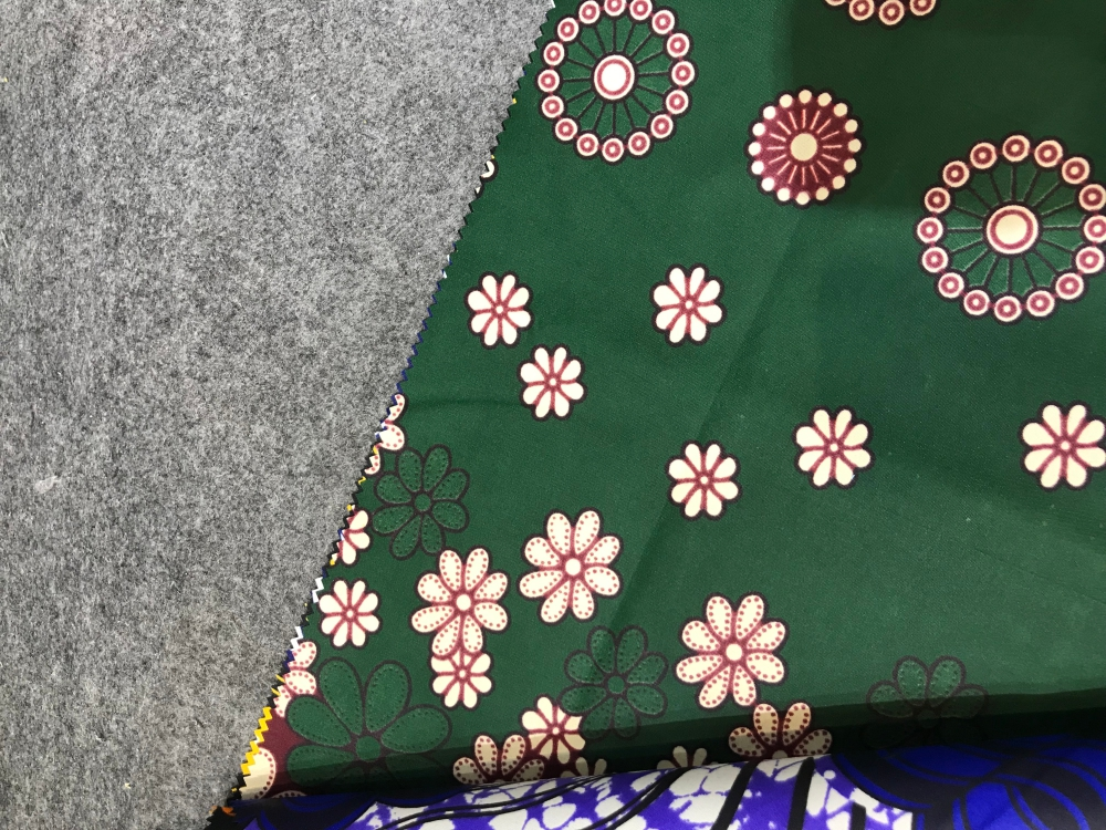 Wax Print Fabric for Polyester