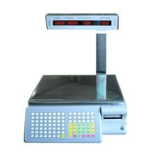 Шкала для печати штрих-кодов шкалы цен