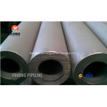 Alta presión intercambiador de calor tubo ASTM A213 TP304
