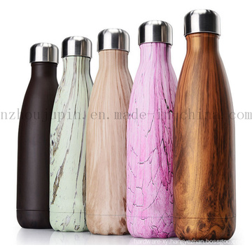OEM Logo Stainless Steel Thermos Vacuum Flask Sport Swell Bottle