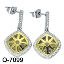 Moda jóias 925 brincos de prata esterlina
