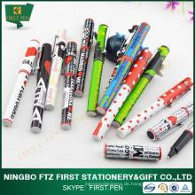 Billig Druck Plastik Souvenir Pen