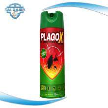 Spray insecticida para mosquitos, moscas y cucarachas