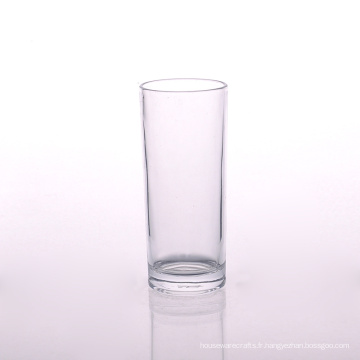 Verre de gobelet clair en gros de la tasse 300ml drôle
