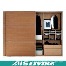Wood Grain Bedroom Wardrobes Closet (AIS-W237)
