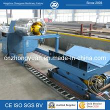 Uncoiler hidráulico con el coche de la bobina (10tons)