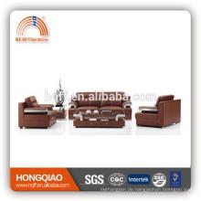 S-11 Metall Fram Leder PU Büro Sofa europäischen Stil Sofa