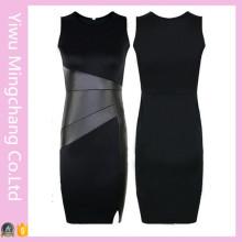 Fast Delivery Partido Evening Splice Slim Pencil Dress
