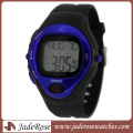 Black and Blue Heart Rate Pulse Watch