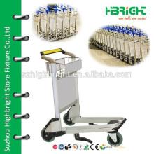 Высокопрочный алюминиевый сплав аэропорта багажная тележка для продажи