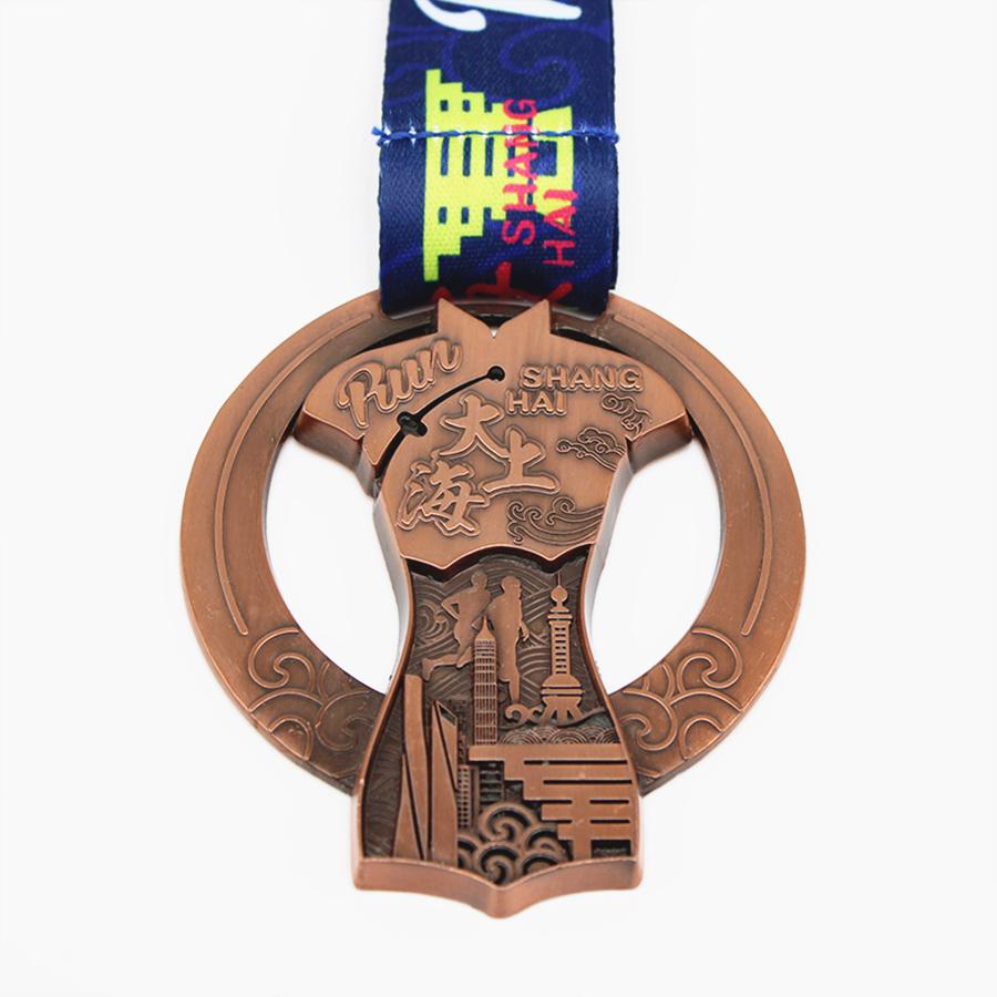 Metal Shanghai Medal