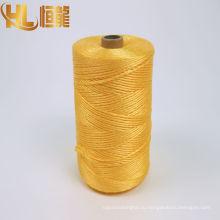 подводный кабель намотки желтое пряжи PP